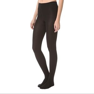NWT Plush Fleece Lined Tights in Black